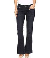 Rock and Roll Cowgirl - Trouser Low Rise Jeans in Dark Wash W8-9630