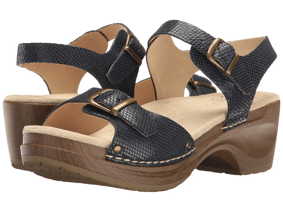 Sanita Davia (Navy Snake) Women