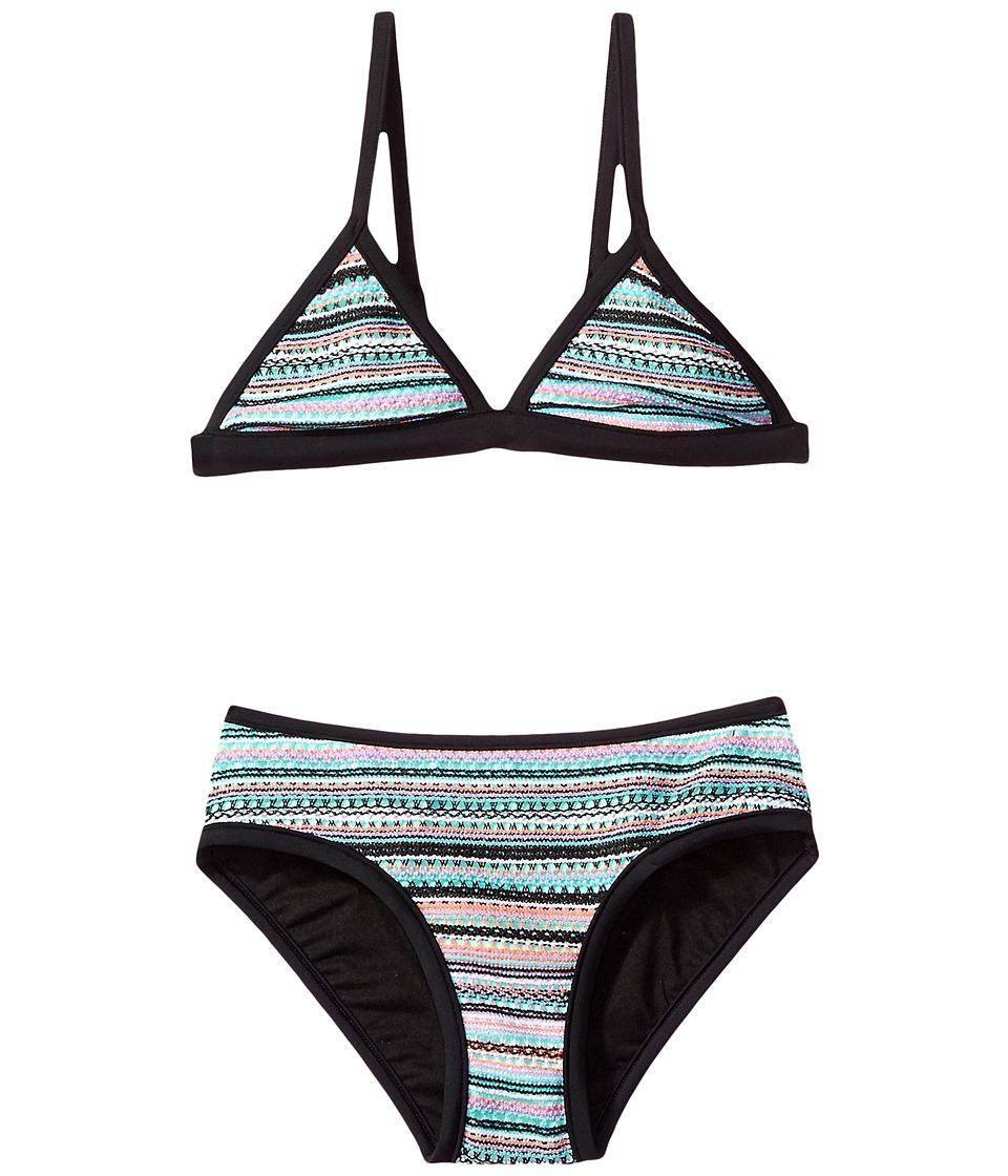 Seafolly Kids - Festival Surf Stripe Trikini Set