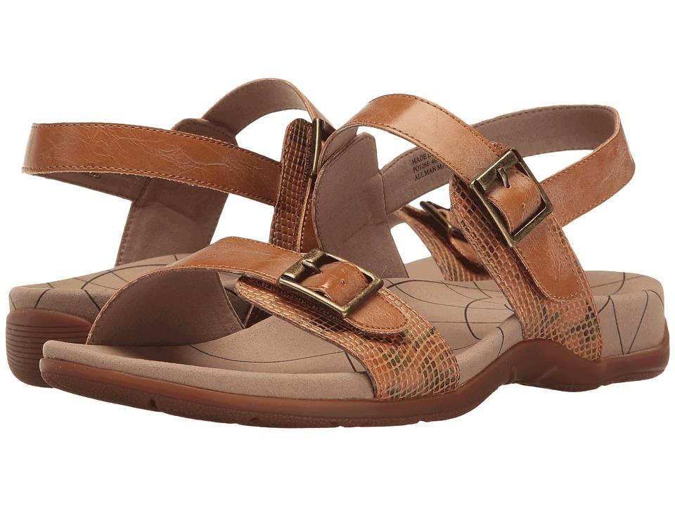Sanita - Candace (Brown Snake) Women's Sandals