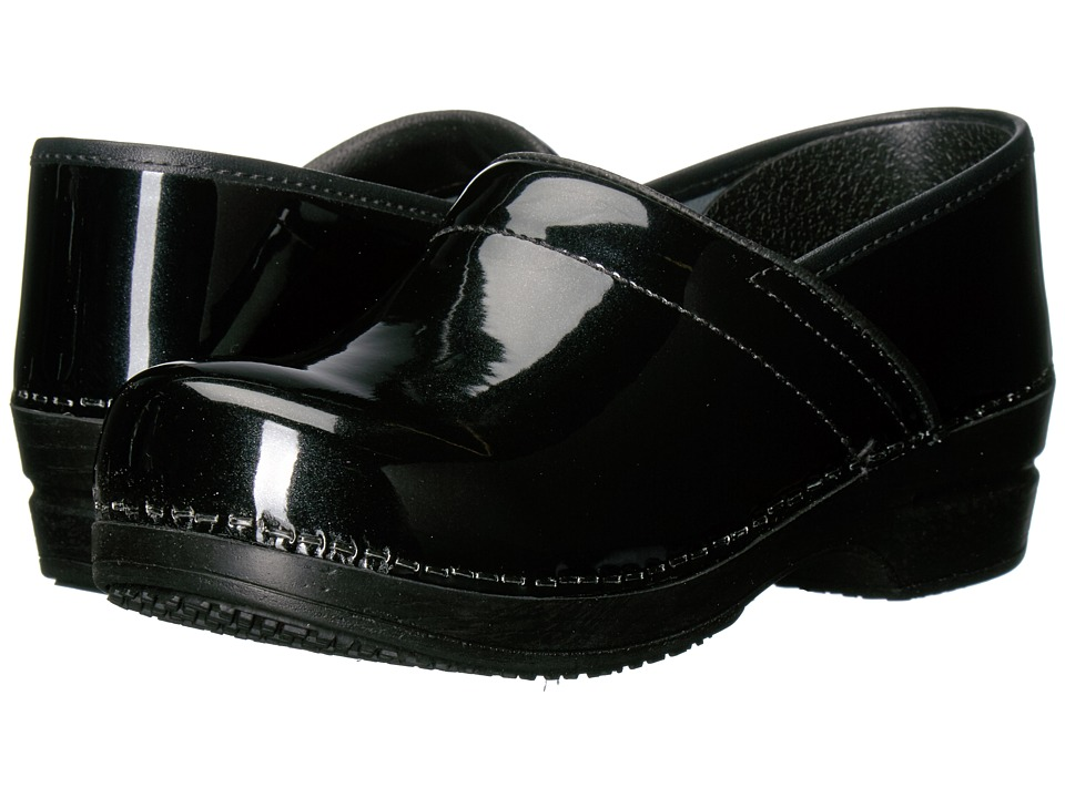Sanita Smart Step Sable Pro (Black) Women's Slip-on Dress Shoes