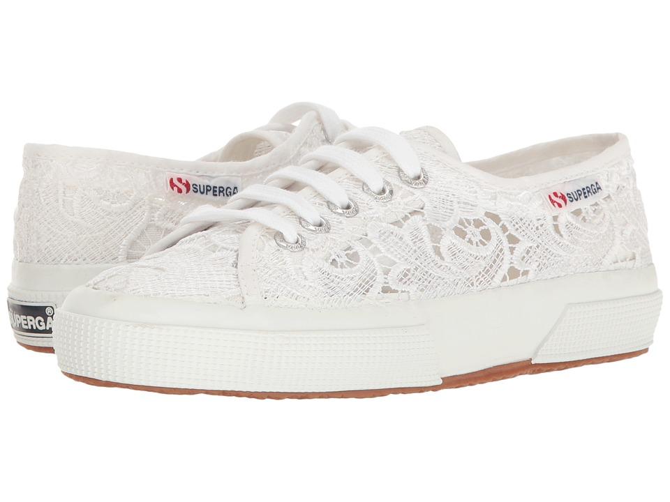 Superga 2750 Lace (White Cotton) Women