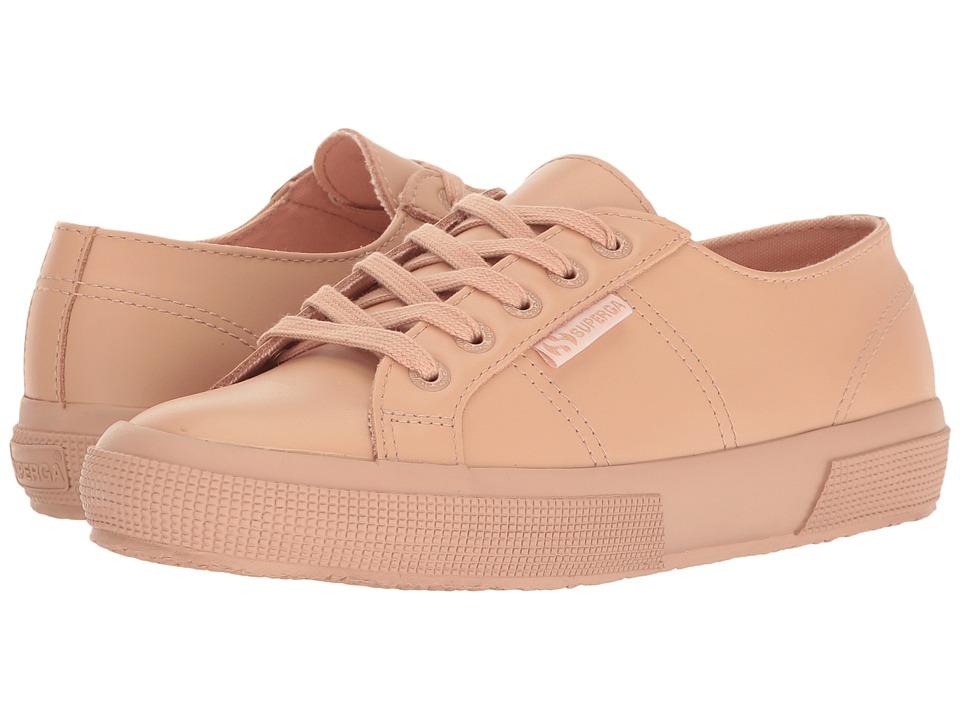 Superga 2750 FGLU (Blossom Pink Leather) Women
