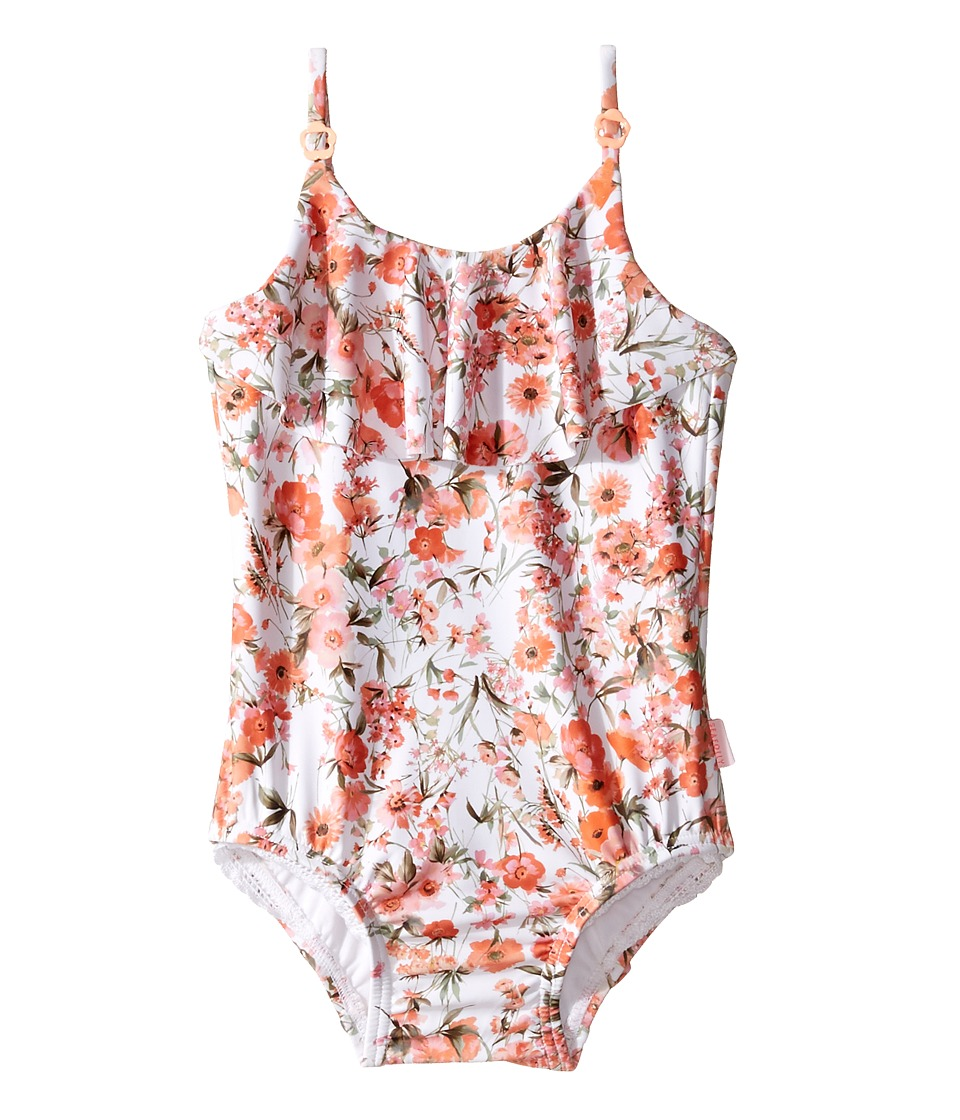 Seafolly Kids - Wild Poppy Ruffle Tank One-Piece