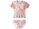 Seafolly Kids Wild Poppy Rashie Set (Infant/Toddler)