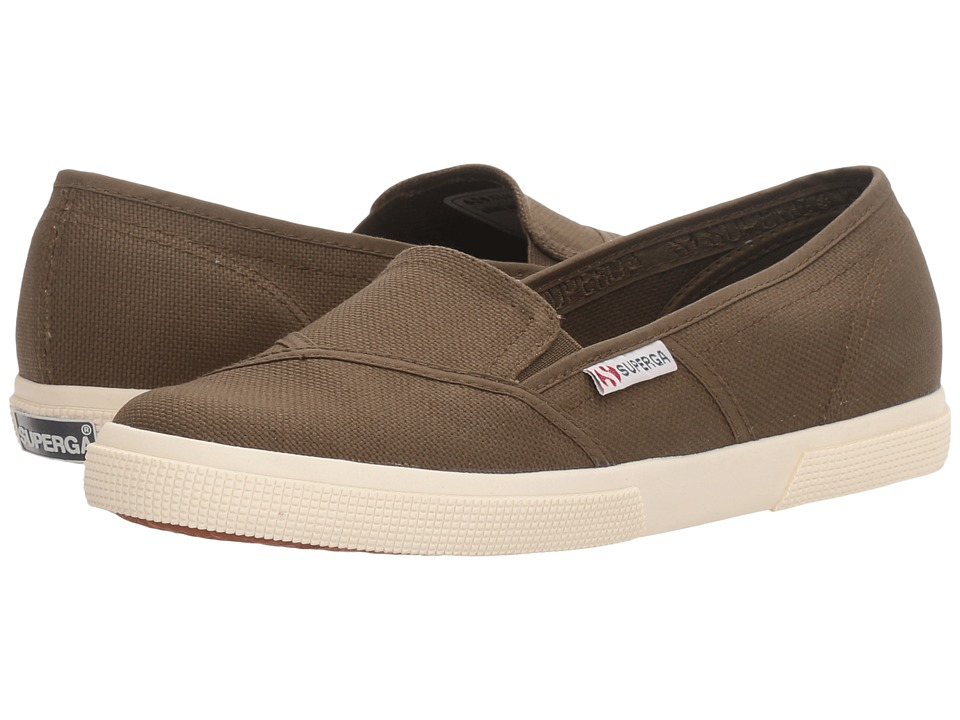 Superga 2210 COTW Slip-On (Military Canvas) Women