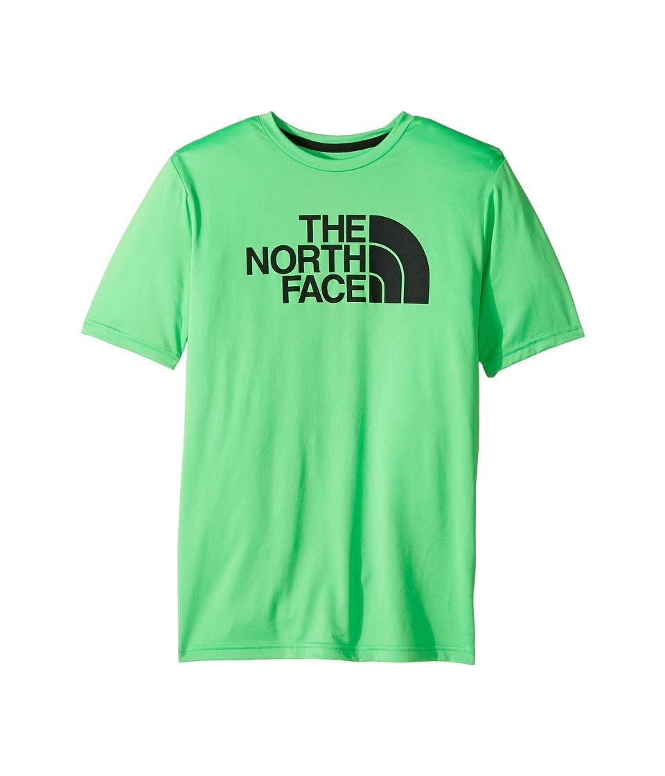 The North Face Kids Short Sleeve Reaxion Tee (Little Kids/Big Kids) (Krypton Green) Boy