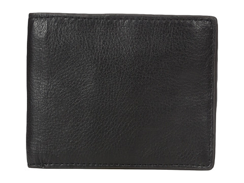 Fossil Pax RFID Bifold Leather Wallet - Black