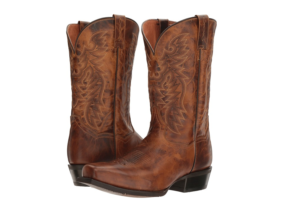 Dan Post Burke (Brown) Cowboy Boots