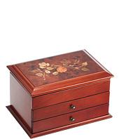 Mele - Brayden Wooden Jewelry Box in Walnut Finish