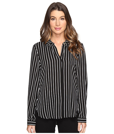 B Collection by Bobeau Herriot Woven Blouse - Stripe 1