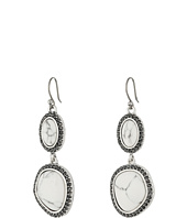 Lucky Brand - Pebble Double Drop Earrings