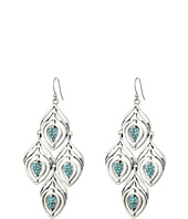 Lucky Brand - Feather Chandelier Earrings II