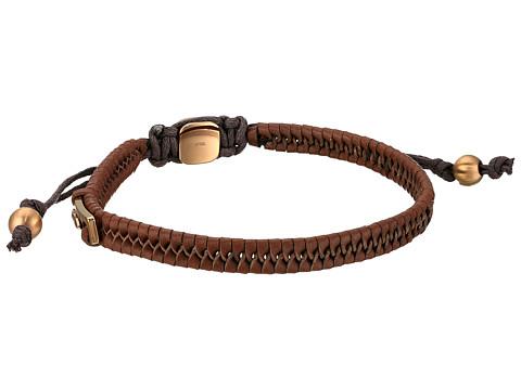 Fossil Vintage Casual Leather Bracelet