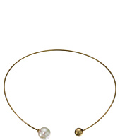 Majorica - 14mm Pearl Plated Titanium Choker Necklace