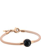 Fossil - Shimmer Glass Stone Cord Bracelet
