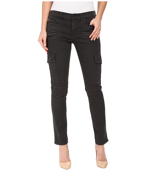 Hudson Colby Ankle Moto Skinny Cargo in Smoky Dark Grey - Smoky Dark Grey