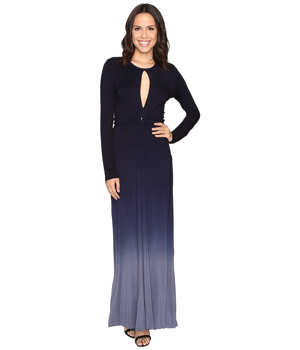 Young Fabulous & Broke Mariel Dress (Navy/Slate Ombre) Women