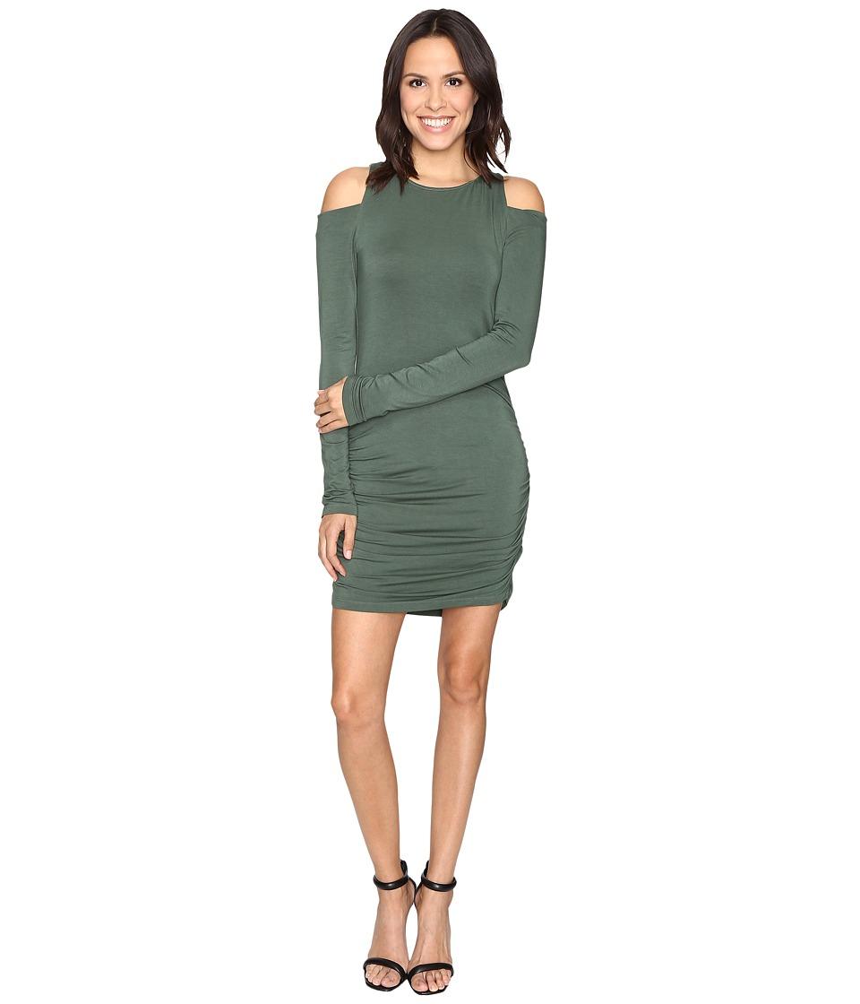 Young Fabulous & Broke Kila Dress (Hunter Green) Women
