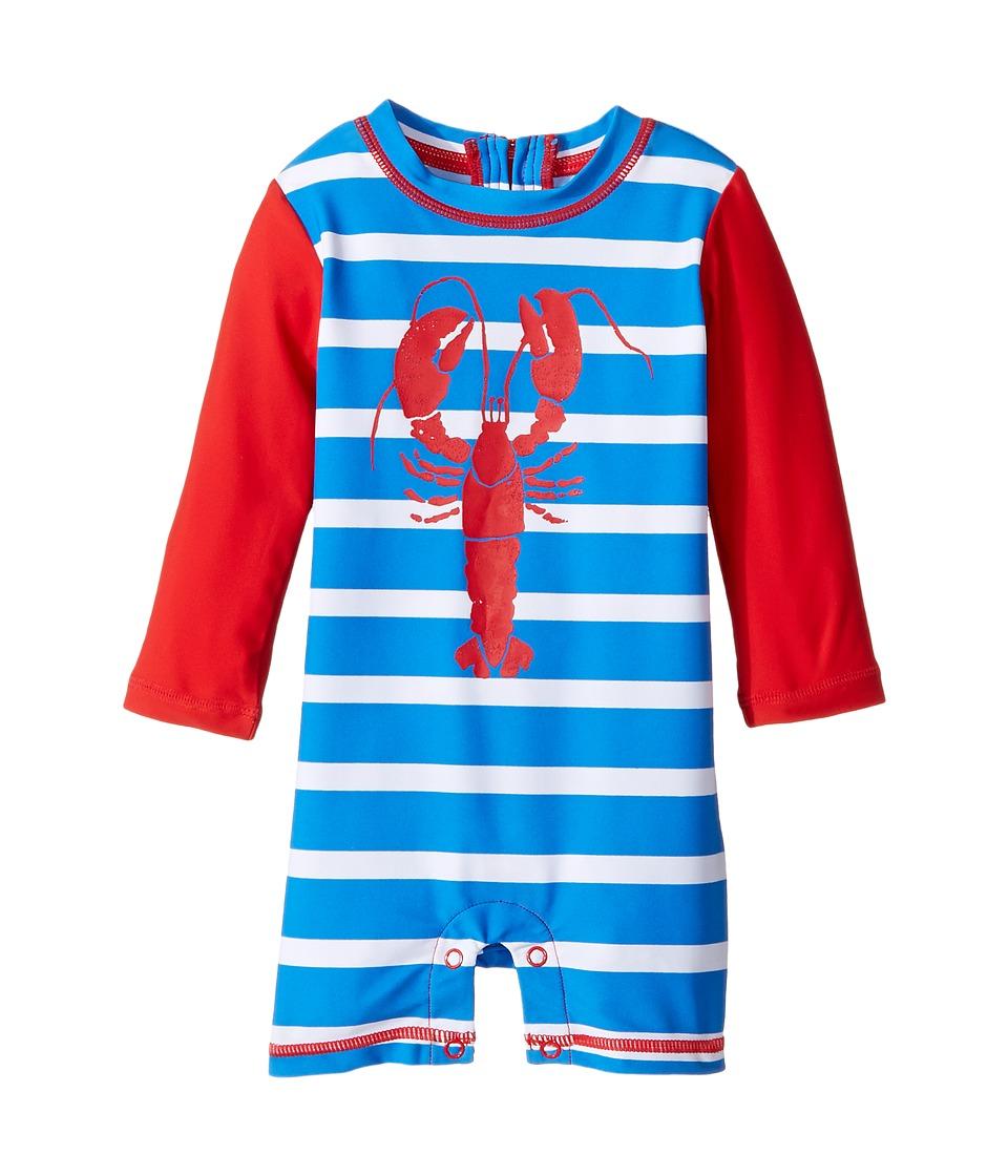 Hatley Kids Lobsters Rashguard (Infant) (Blue) Boy