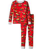 Hatley Kids - Heavy Duty Machines Pajama Set (Toddler/Little Kids/Big Kids)