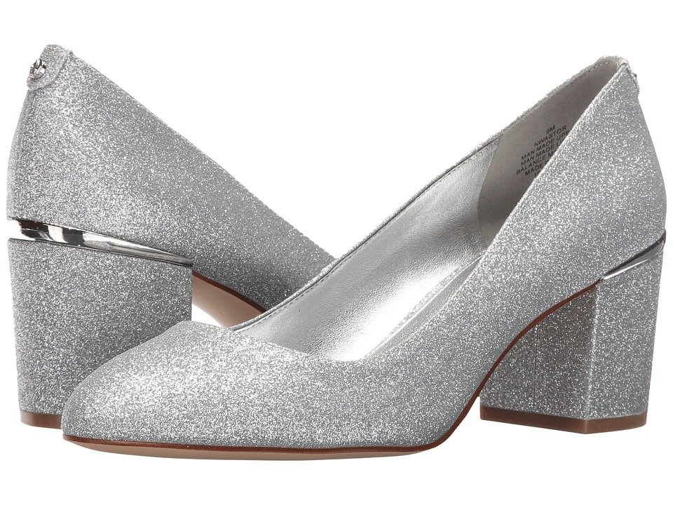 Nine West Astor 3 (Silver Patent) Women