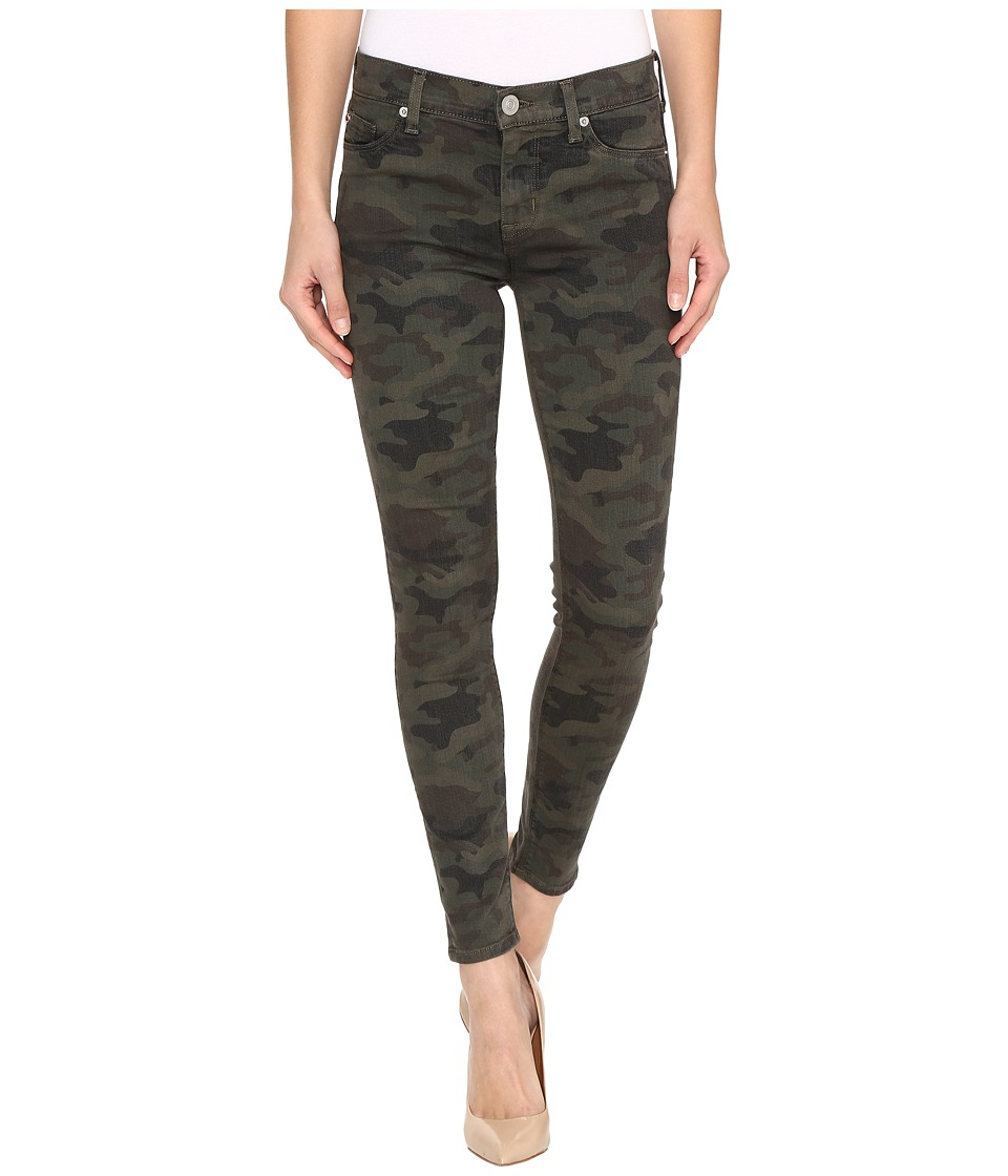 Hudson - Nico Mid-Rise Ankle Skinny in Infantry Camo (Infantry Camo) Womens Jeans