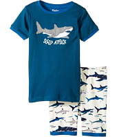 Hatley Kids - Toothy Sharks Short Pajama Set (Toddler/Little Kids/Big Kids)