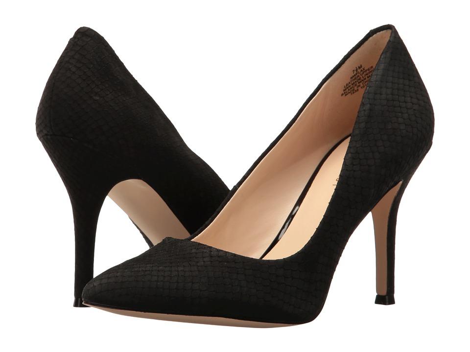 Nine West Flax (Black Nubuck) High Heel Shoes