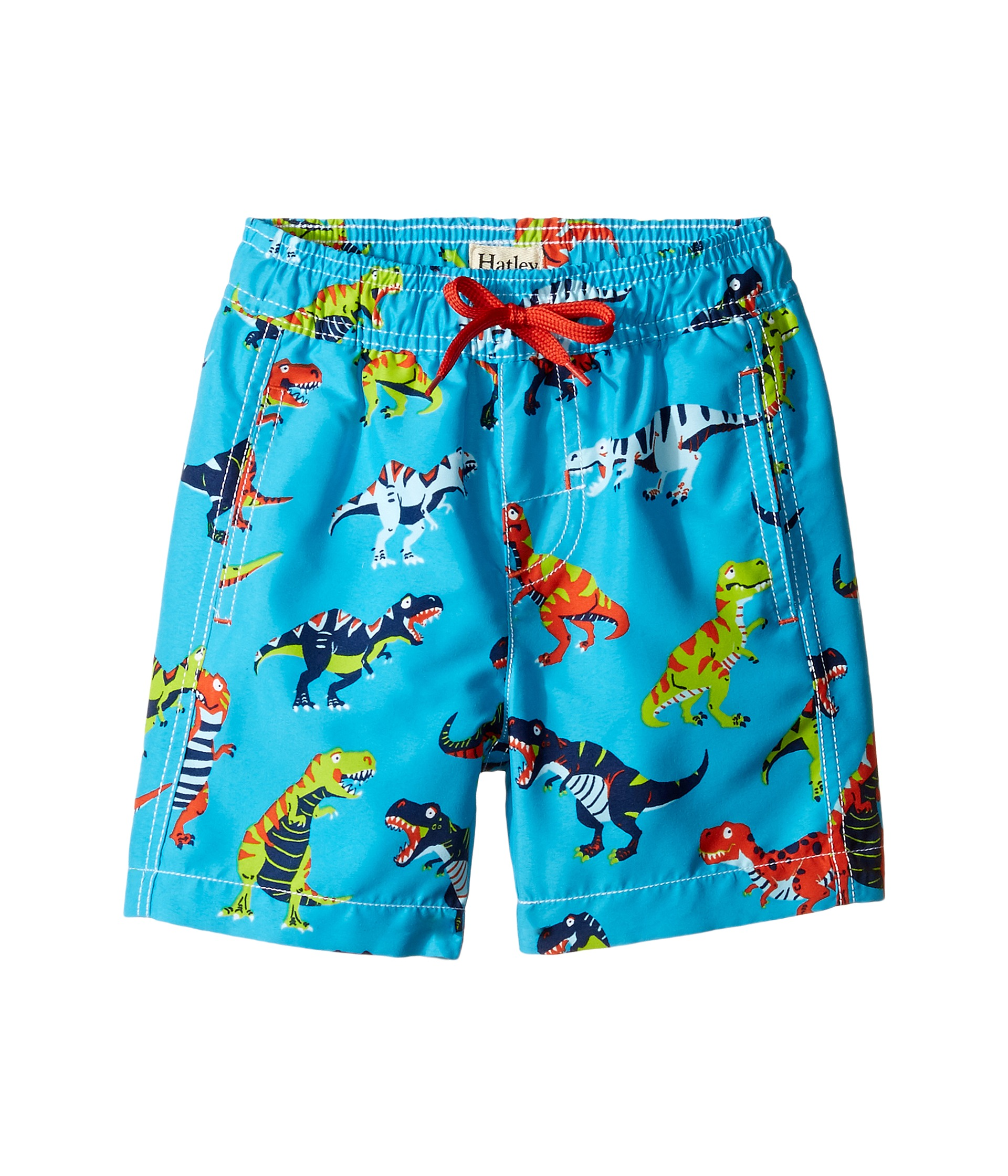 hatley kids boys shipped at zappos hatley kids roaring t rex swim trunks toddler little kids big