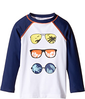 Appaman Kids - Long Sleeve Shades Rashguard w/ SPF 50 Cover-Up (Toddler/Little Kids/Big Kids)