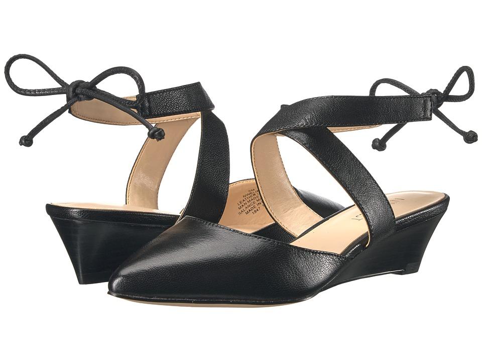 Nine West - Elira (Black Leather) Womens Shoes