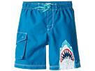 Hatley Kids - Toothy Shark Boardshorts (Toddler/Little Kids/Big Kids)