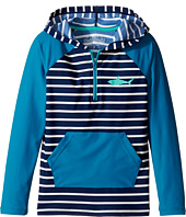 Hatley Kids - Toothy Shark Hooded Rashguard (Toddler/Little Kids/Big Kids)