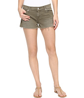 Hudson - Kenzie Cut Off Shorts in Loden Green