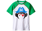 Short Sleeve Pirate Rashguard w/ SPF 50 Cover-Up (Toddler/Little Kids/Big Kids)