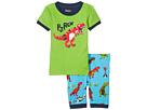 Hatley Kids - Roaring T-Rex Short Pajama Set (Toddler/Little Kids/Big Kids)