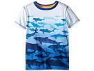 Hatley Kids - Shark Dip-Dye Graphic Tee (Toddler/Little Kids/Big Kids)