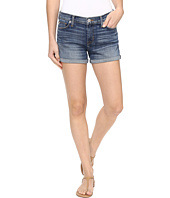 Hudson - Asha Mid-Rise Cuffed Shorts in Coalition