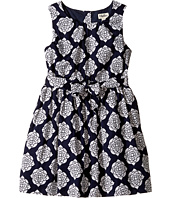 Hatley Kids - Henna Floral Lined Party Dress (Toddler/Little Kids/Big Kids)