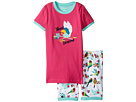 Hatley Kids - Tropical Birds Short Pajama Set (Toddler/Little Kids/Big Kids)