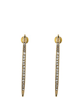 Steve Madden - Casted Stones Bar Post Earrings