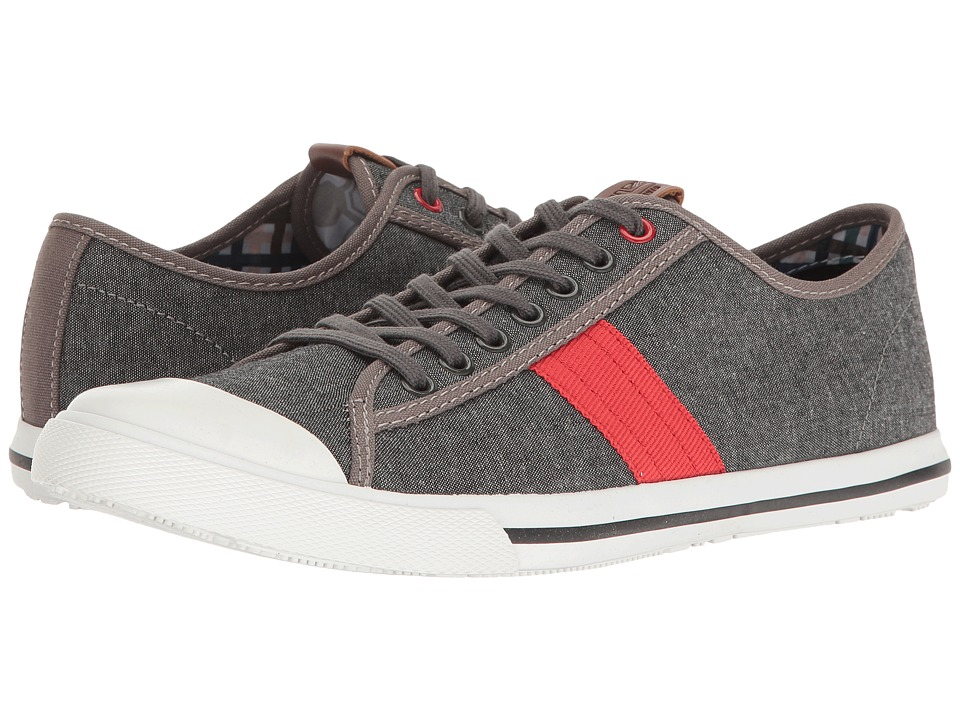 Ben Sherman Eddie Lo (Grey Chambray) Men