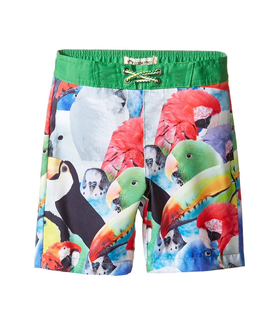 Appaman Kids - Parrot Pattern Swim Trunks