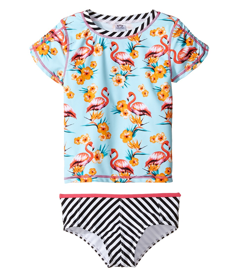 Appaman Kids - Tahiti Rashguard Set w/ SPF 50 Cover-Up