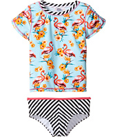 Appaman Kids - Tahiti Rashguard Set w/ SPF 50 Cover-Up (Toddler/Little Kids/Big Kids)