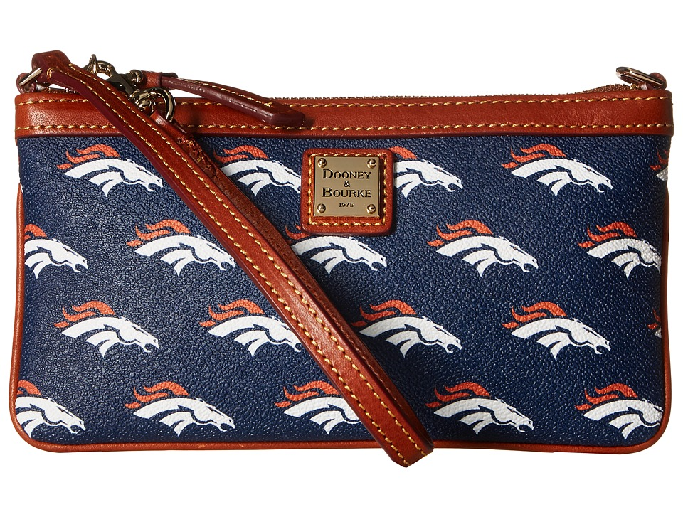 Dooney & Bourke - NFL Large Slim Wristlet (Denver) Wristlet Handbags