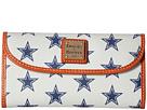 Dooney & Bourke NFL Continental Clutch