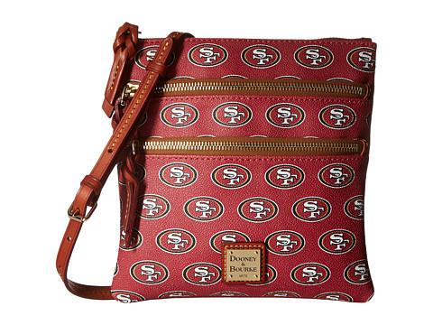 Dooney & Bourke NFL North/South Triple Zip - San Francisco