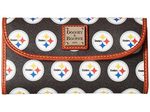 Dooney & Bourke NFL Continental Clutch - Pittsburg